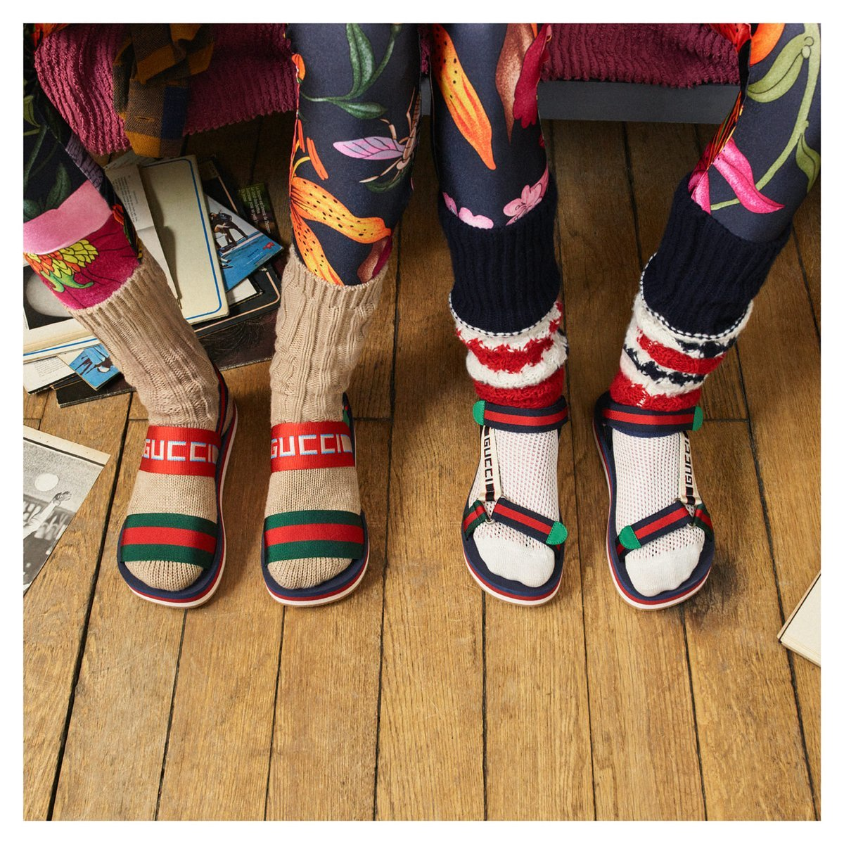 Socks in sandals – YES, or NO?   Luxury