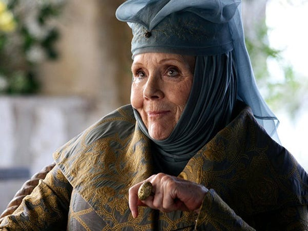 """Diana Rigg - """"Game of thrones"""""""