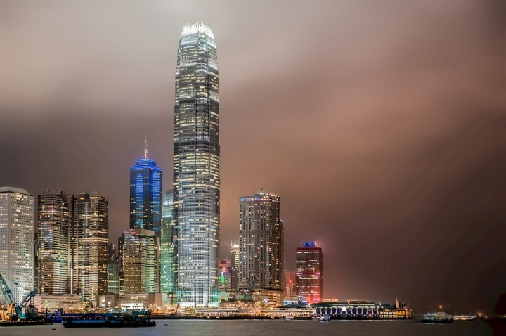 Hong Kong combines Chinese and Western culture