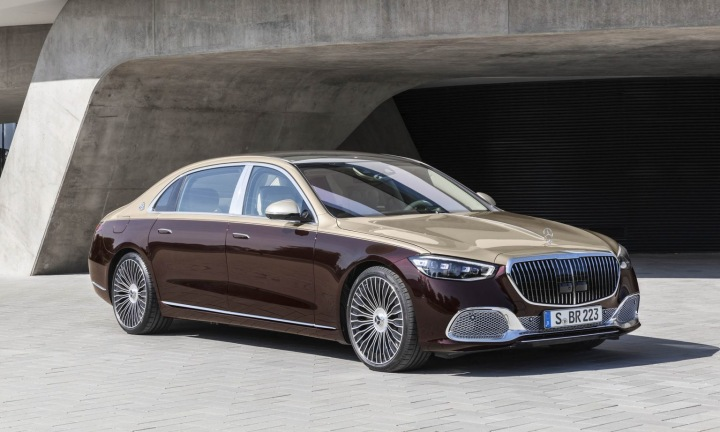 Mercedes-Maybach S 580