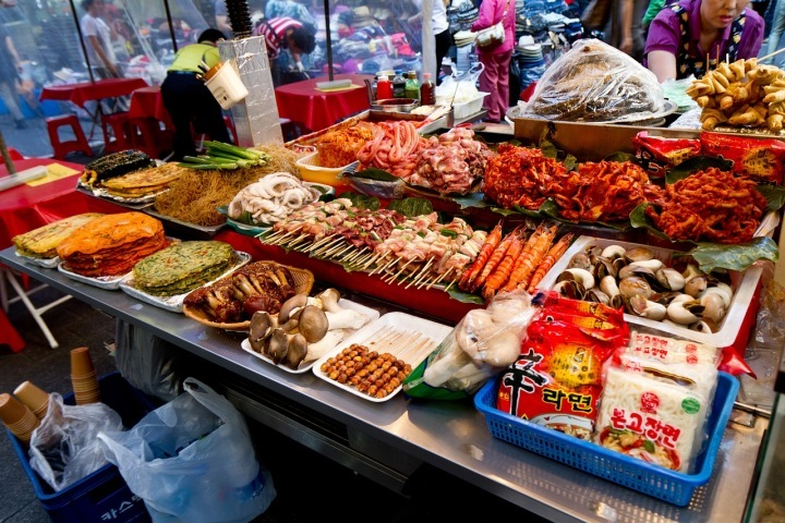 Seoul has fabulous food and high costs