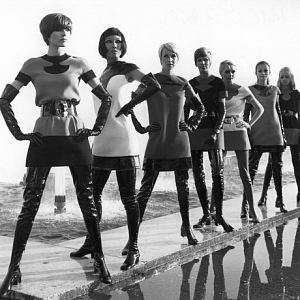 The exhibition of Pierre Cardin you can find in Brooklyn Museum
