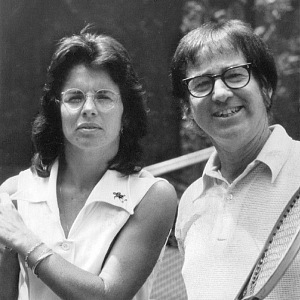Billie Jean King and Bobby Riggs