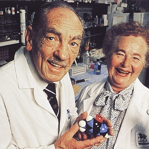 Gertrude Elion and George Hitching