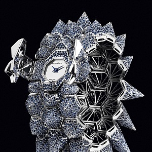Haute Joaillerie Diamond Outrage, watch and bracelet