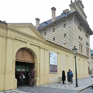 The entrance to gallery